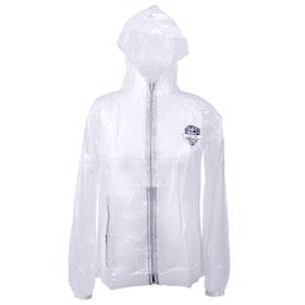 QHP Junior Raincoat Childrens Riding Jacket - Transparent