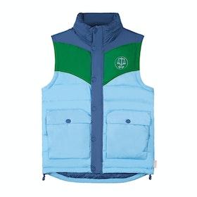 Hunter Original Puffer Vest - Peak Blue Green