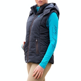 Mark Todd Winter Padded Damen Thermoweste - Black