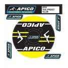 Apico Trials Rear Sprocket Sticker 43T , Decal Sheet