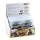 Bike Specific Bolt Pack Bolt Hardware ATV Style Track Pack Fastener Kit 6Pc Box Set