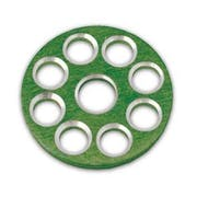 MX Bike Bling Bolt Hardware Factory Tank Washer Green