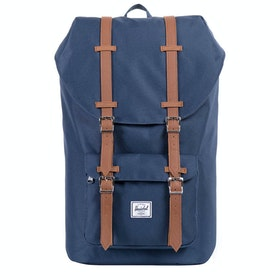 Herschel Little America Rygsæk - Navy tan Synthetic Leather