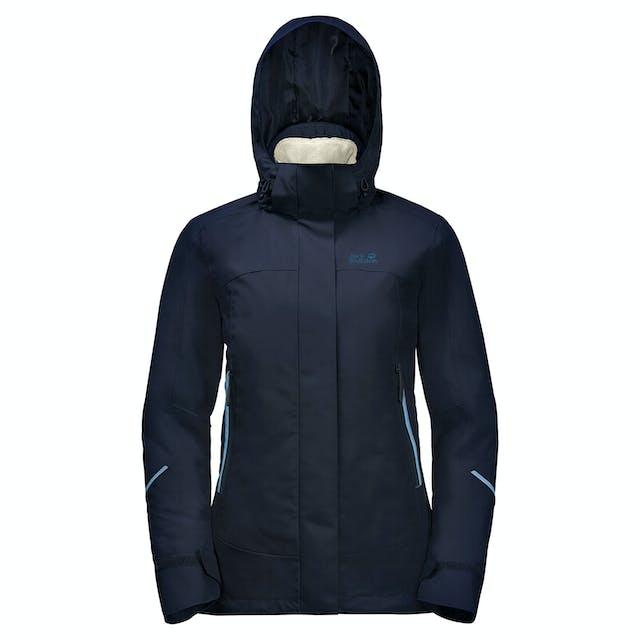 Jack Wolfskin Taiga Trail 3in1 Womens Waterproof Jacket