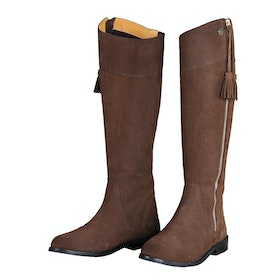 Shires Florenza Suede Dames Laarzen - Brown