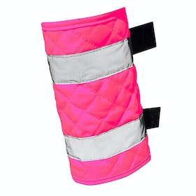 Equisafety Quilted Leg Reflective Boots - Pink