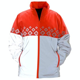 Equisafety Childs Luminosa Childrens Reflective Jacket - Red Orange