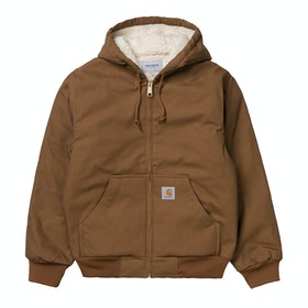 Carhartt Active Pile Jacket - Hamilton Brown