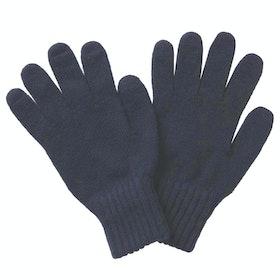 Barbour Lambswool Gloves - Navy