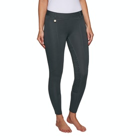 Derby House Pro Gel Ladies Riding Tights - Grey