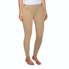 Derby House Pro Gel Ladies Riding Tights - Beige