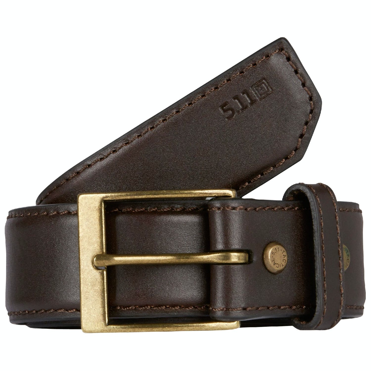 5 11 Tactical Casual Leather 1 5 Inch Belt From Nightgear Uk