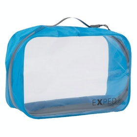 Organiseur de voyage Exped Clear Cube Large - Cyan