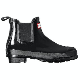 Hunter Original Chelsea Gloss Dame Wellies - Black