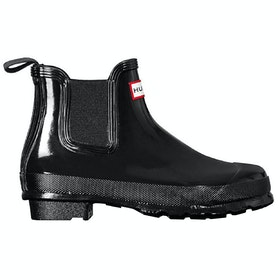 Hunter Original Chelsea Gloss Ladies Wellies - Black