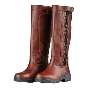 Dublin Pinnacle Grain II Country Boots - Red Brown