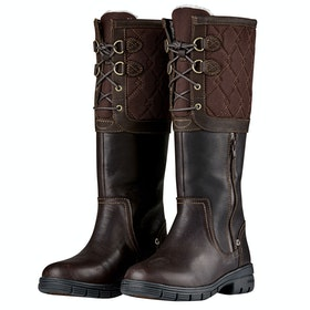 Dublin Teddington Ladies Country Boots - Chocolate