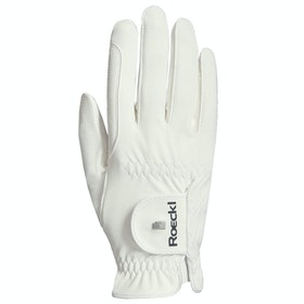 Competition Glove Roeckl Roeck Grip Pro - White