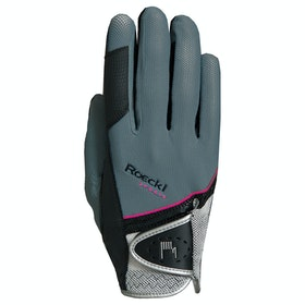 Roeckl Madrid Competition Glove - Grey