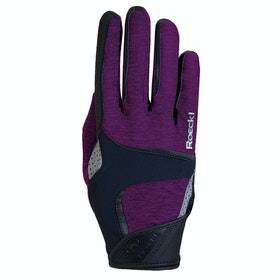 Everyday Riding Glove Roeckl Mendon - Berry