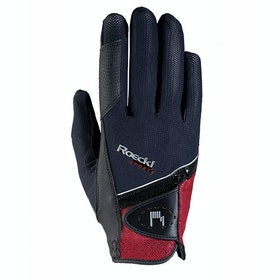 Roeckl Madrid Competition Glove - Black Red