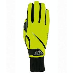 Everyday Riding Glove Damski Roeckl Wismar - Neon Yellow