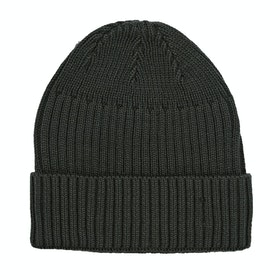 Derby House Ribbed Mens Beanie - Charcoal