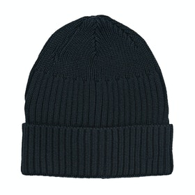 Derby House Ribbed Mens Beanie - Navy