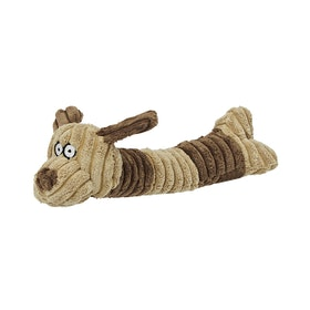 Derby House Pro Squeaky Dog Toy - Brown