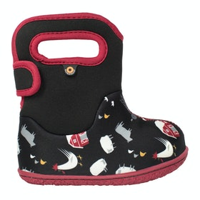 Bogs Bogs Farm Wellingtons - Black Multi