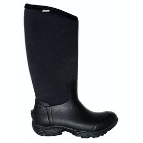 Bogs Essential Light Tall Solid Ladies Wellies - Black