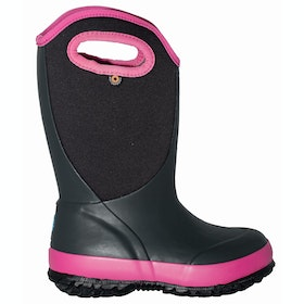 Bogs Slushie Kids Wellingtons - Dark Gray Multi