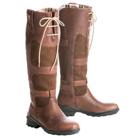 Botas de campo Mujer Tredstep Avoca Wide Fit Pull On - Dark Brown
