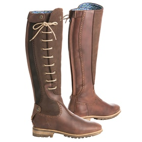 Tredstep Manor , Country Boots Dam - Dark Brown