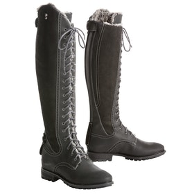Country Boots Damski Tredstep Legacy Winter Fur - Black
