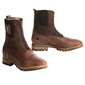 Tredstep Spirit Front Zip Ladies Paddock Boots - Dark Brown