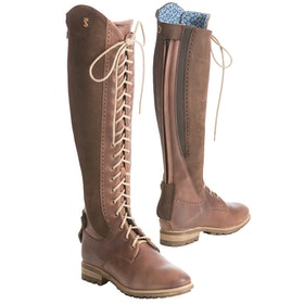 Botas de campo Mujer Tredstep Legacy Wide Fit - Light Brown