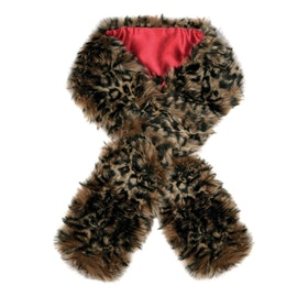 Dubarry Faux Fur Ladies Scarf - Leopard