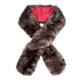 Dubarry Faux Fur Ladies Scarf - Elk