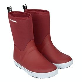 Tretorn Wings Neo Wellies - Oak Red