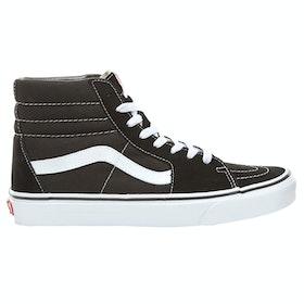 Sapatos Vans Sk8 Hi - Black White