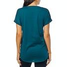 Fox Racing Responded V Neck Womens Short Sleeve T-Shirt