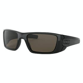 Oakley Fuel Cell Sunglasses - Polished Black ~ Warm Grey