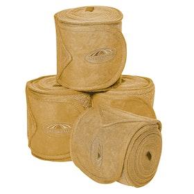 Weatherbeeta Prime Fleece 4 Pack Bandage - Mustard Yellow