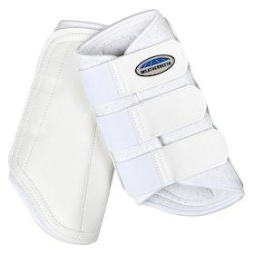 Weatherbeeta Single Lock Brushing Boot - White
