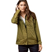 United by Blue Albright Rain Shell Ladies Waterproof Jacket