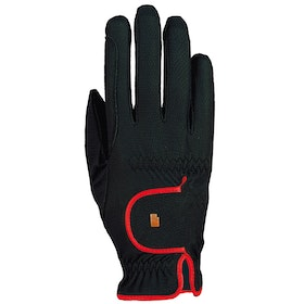 Roeckl Lona Riding Gloves - Black Red