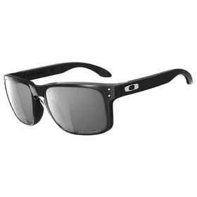 Óculos de Sol Oakley Holbrook Polarizado - Polished Black ~ Grey