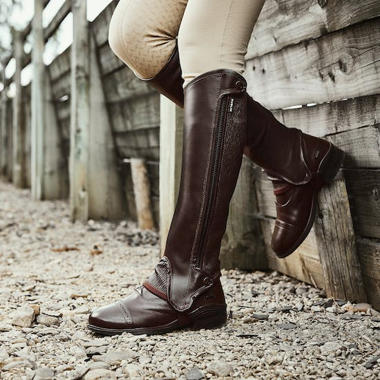 Dublin Evolution Side Zip Half Chaps