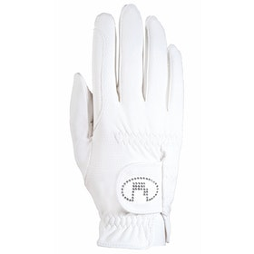 Competition Glove Roeckl Lisboa - White